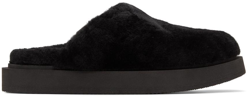Black Swanilda Loafers
