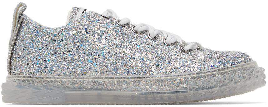 Silver Glitter May London Sneaker