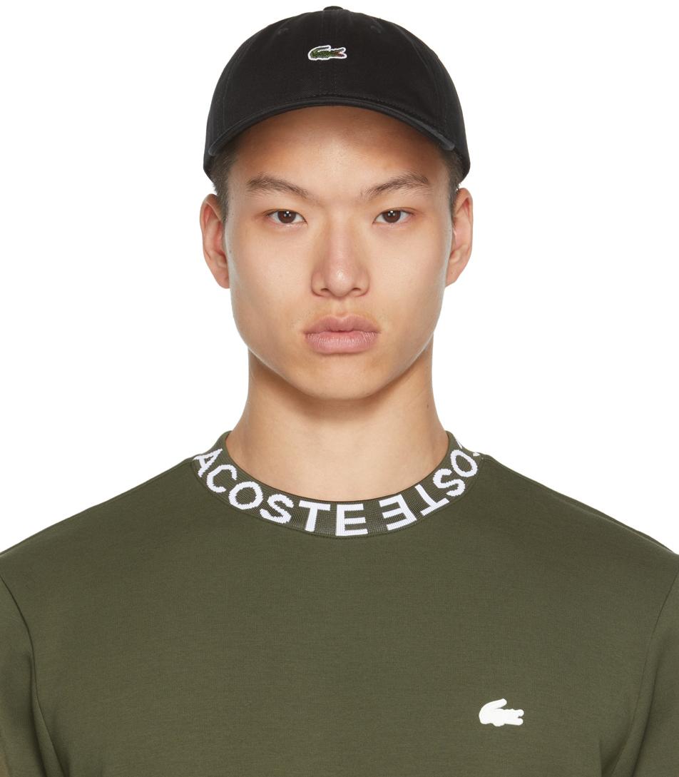 Black Crocodile Cap