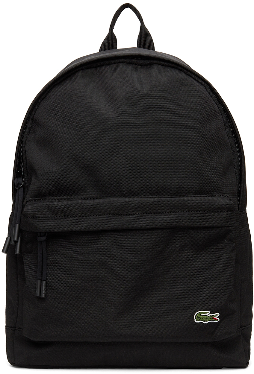 Black Canvas Small Neocroc Backpack