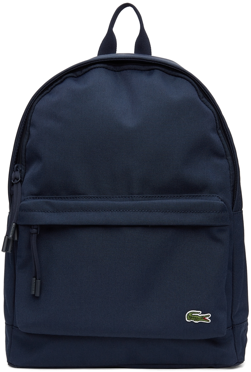 Navy Canvas Small Neocroc Backpack