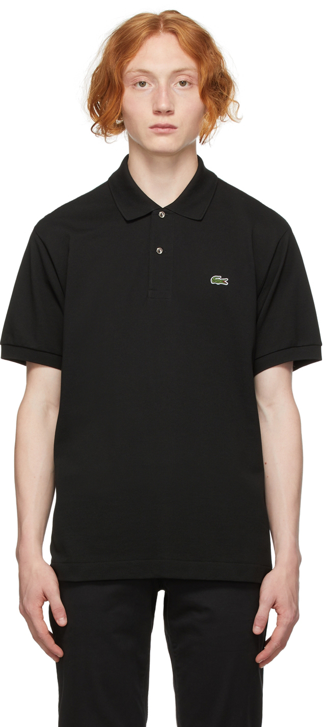 Black Regular Fit Polo