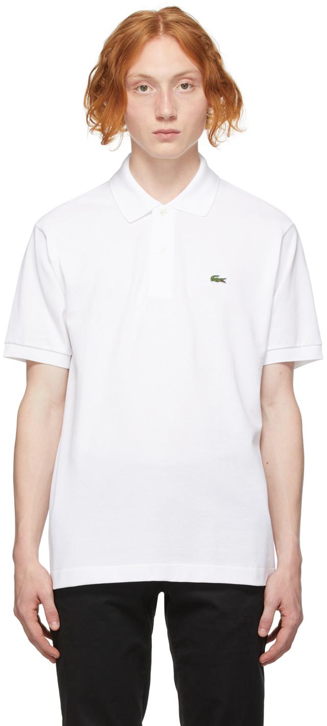 White Regular Fit Polo