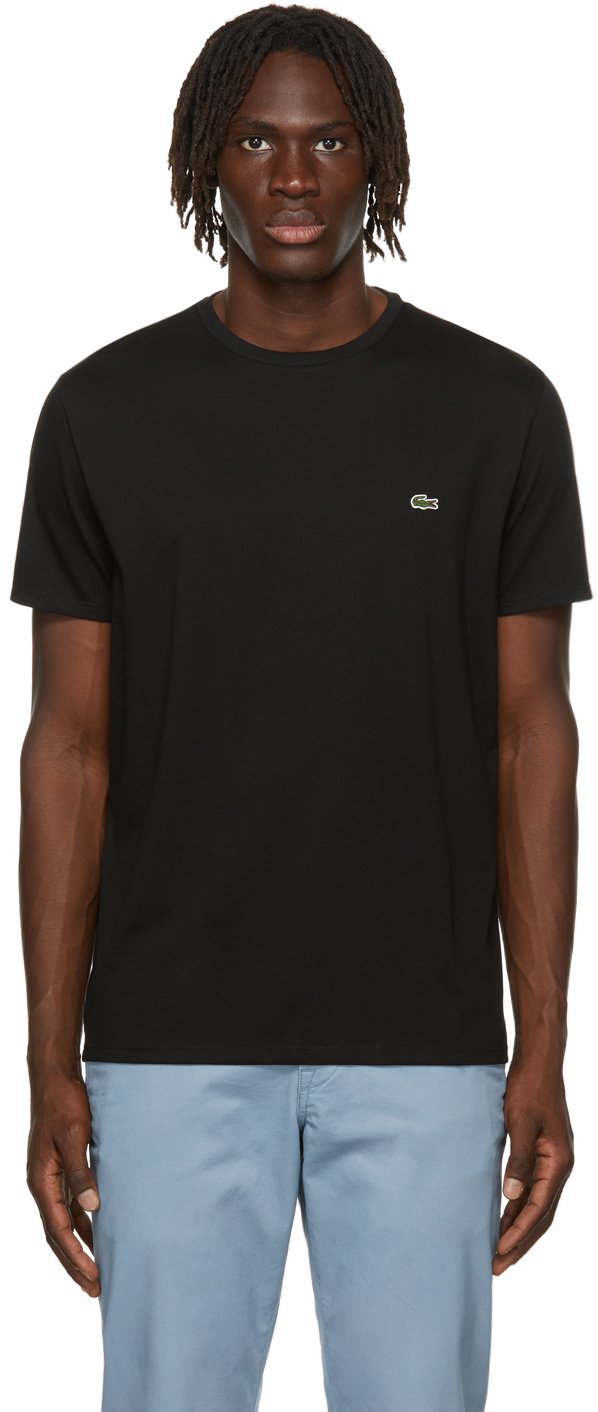 Black Pima Cotton T-Shirt