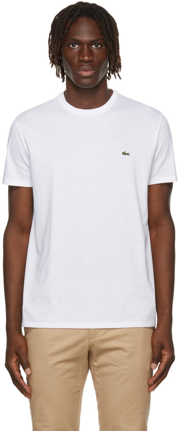 White Pima Cotton T-Shirt