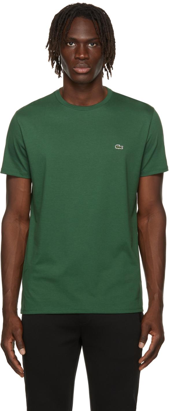 Green Pima Cotton T-Shirt