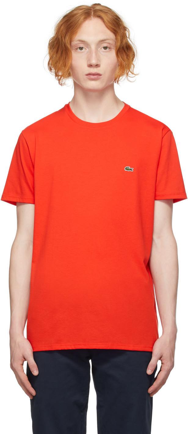 Red Regular Fit T-Shirt