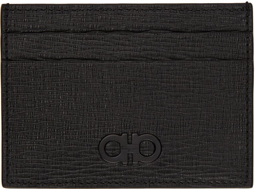 Black & Grey Bill Clip Card Holder