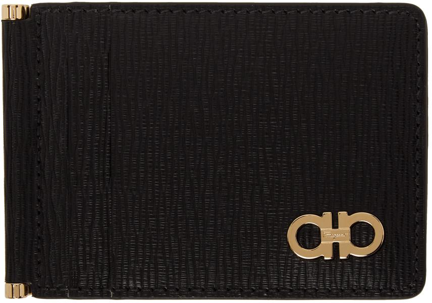Black Gancini Bifold Card Holder