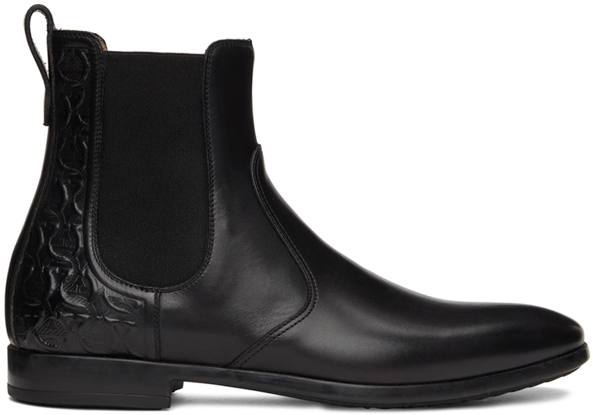 Black Nathan Chelsea Boots