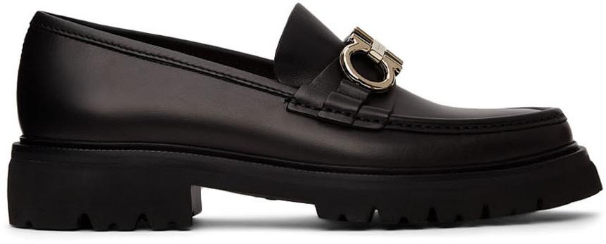 Black Gancini Bleecker Loafers