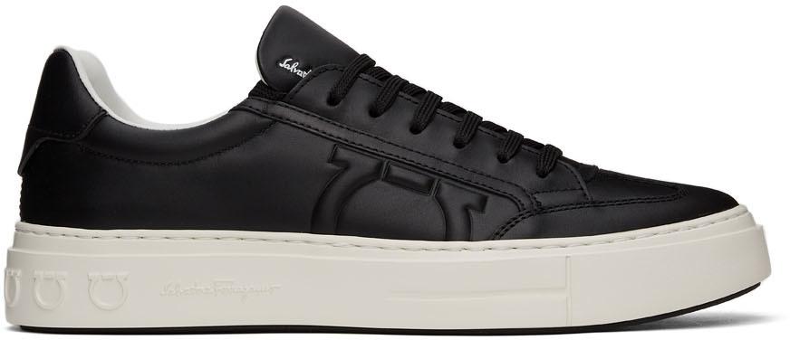 Black Gancini Sneakers