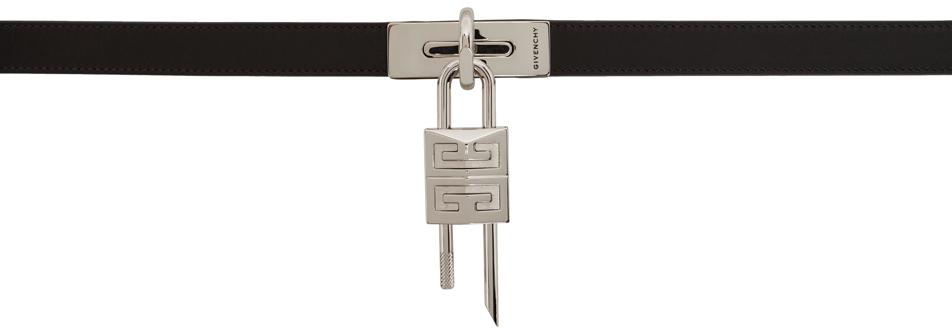 Black 4G Turnlock Belt