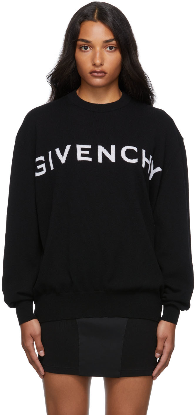 Black Cashmere 4G Sweater