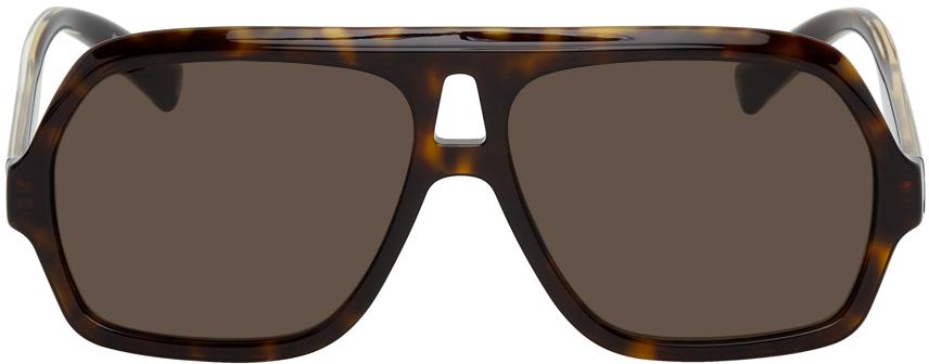 Black 7200 Aviator Sunglasses