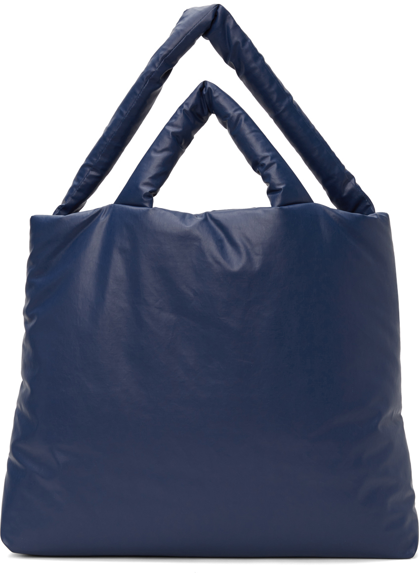 Navy Large Oil Pillow Tote