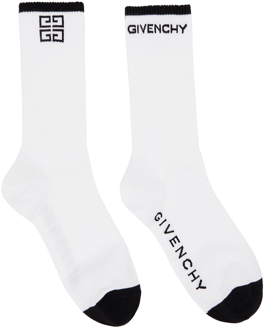 White & Black 4G Socks