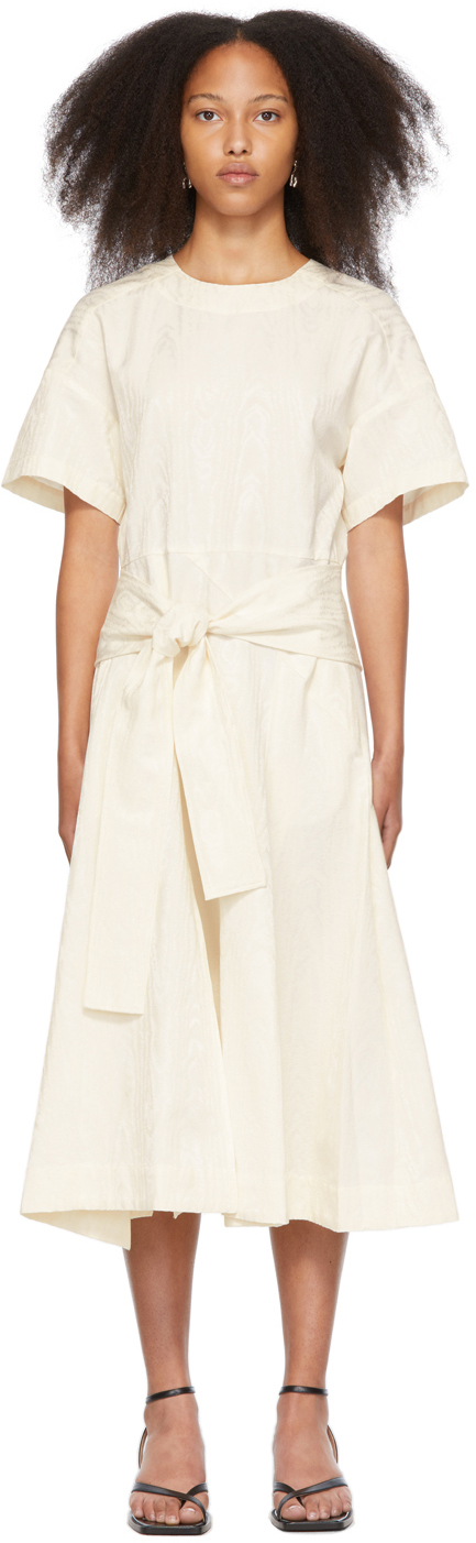 Off-White Side-Tie Front Dress