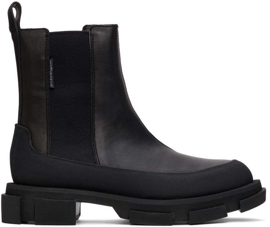 Black Gao Chelsea Boots
