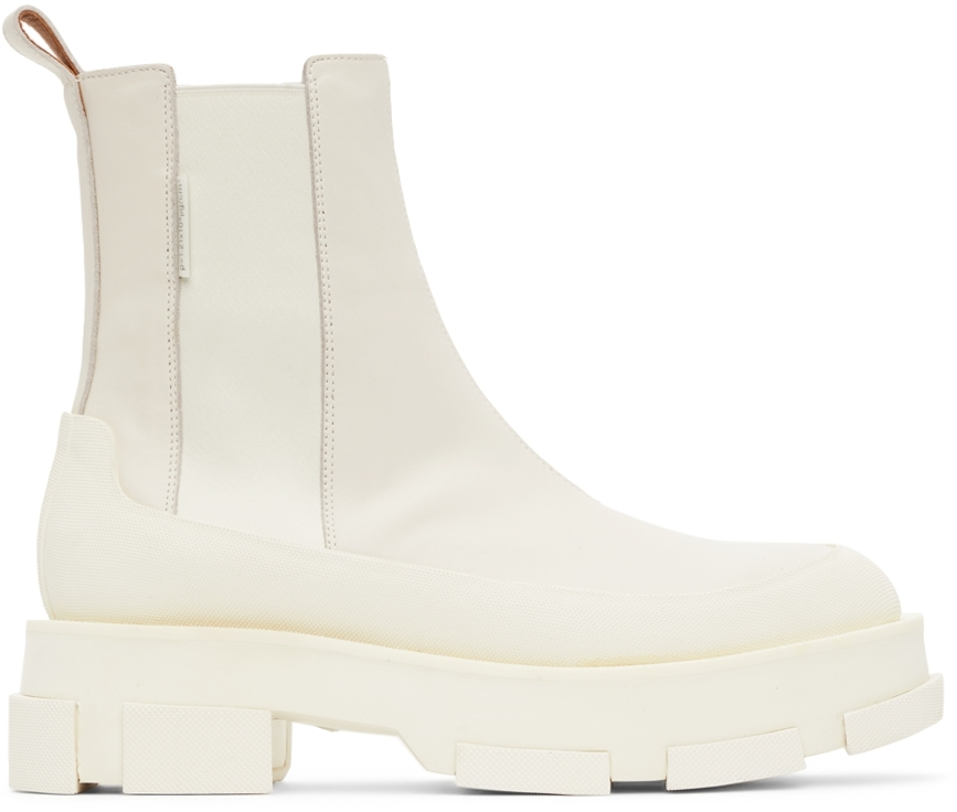 Off-White Platform Gao Chelsea Boots