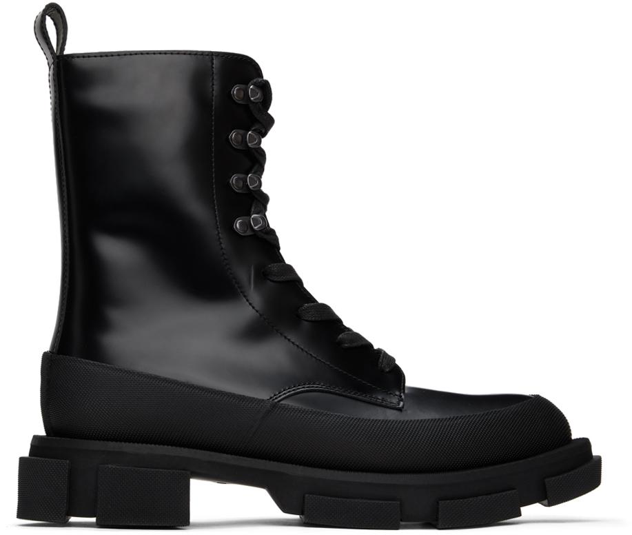 Black High Gao Boots