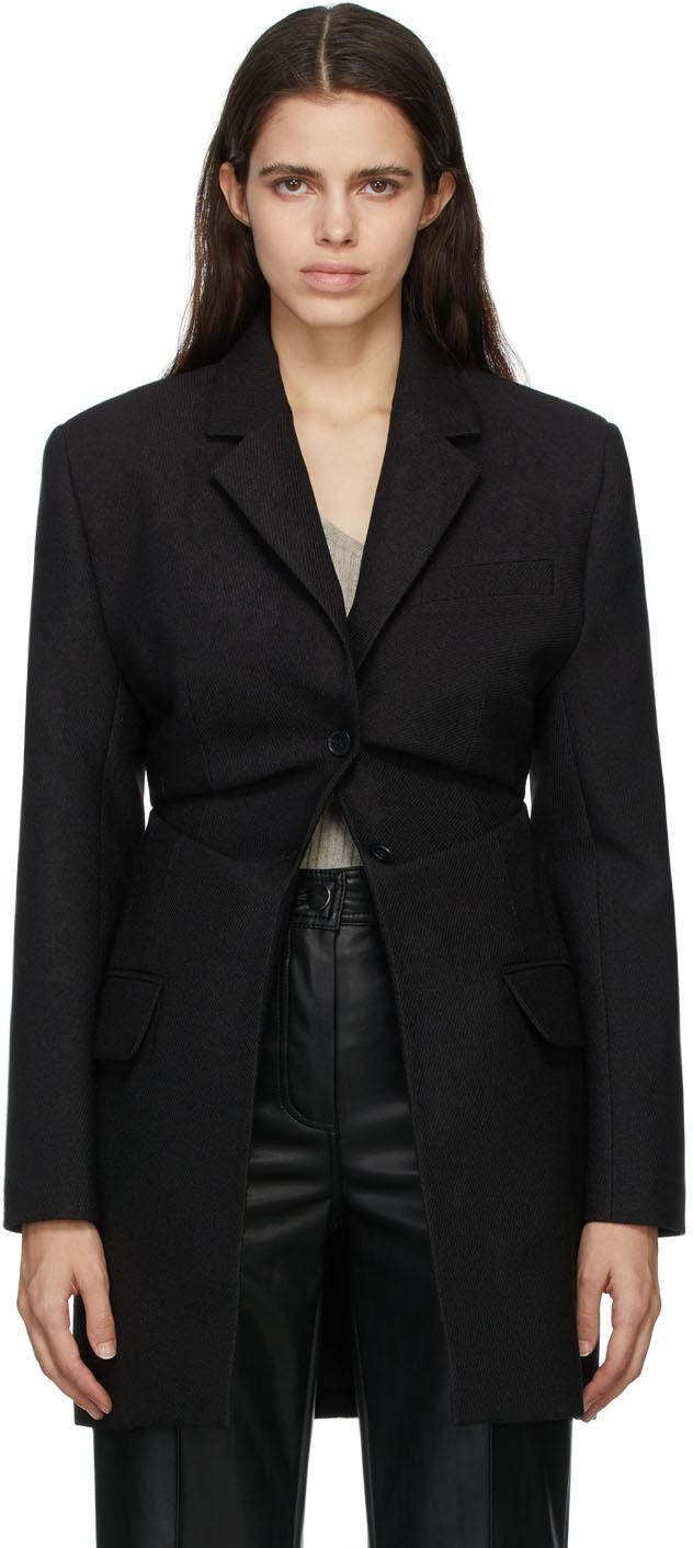 Matériel Tbilisi Black Twill Blazer