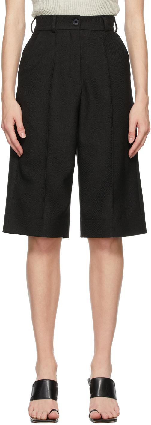Matériel Tbilisi Black Twill Shorts