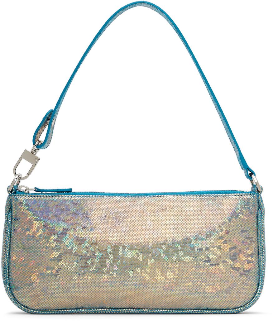 Blue Hologram Rachel Bag