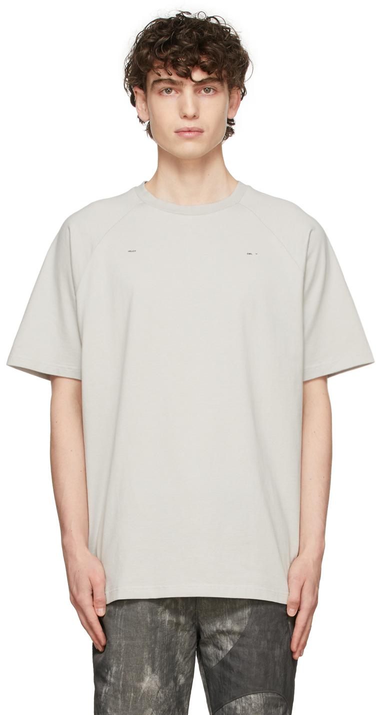 Grey Logo Raglan T-Shirt