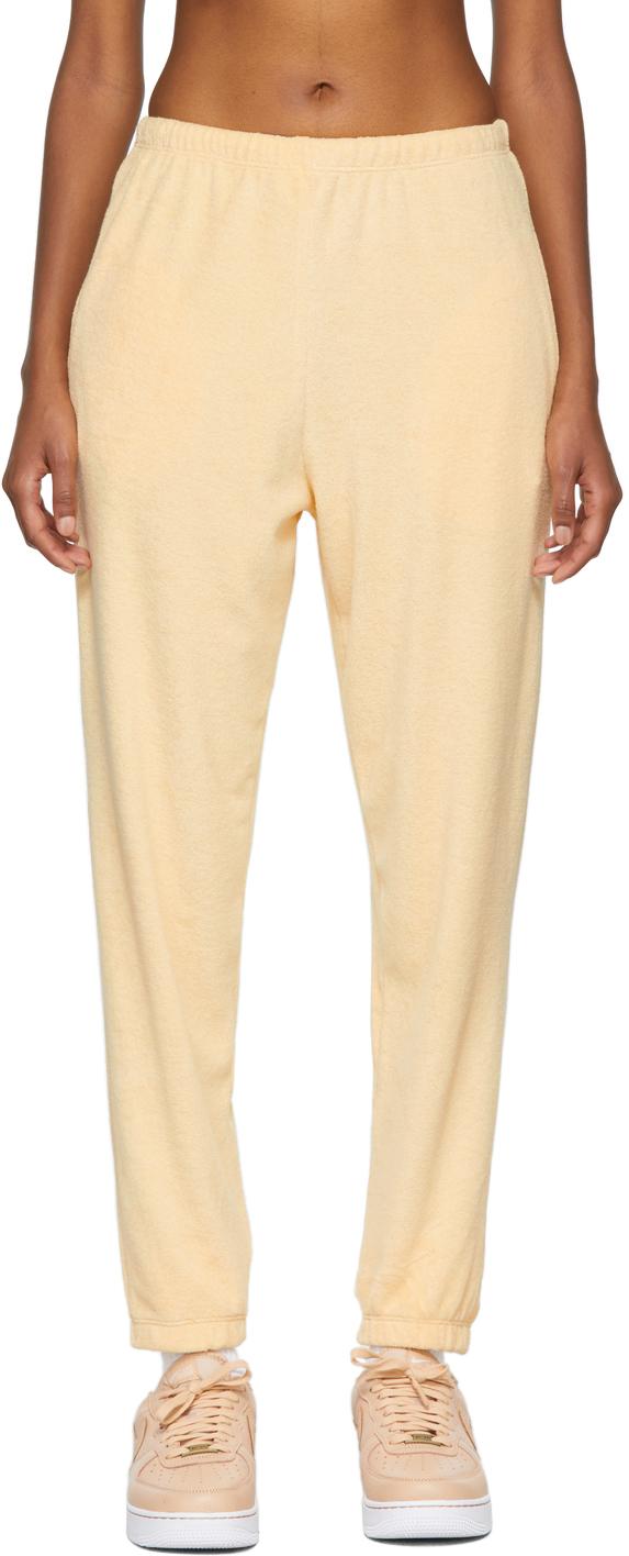 SSENSE Exclusive Orange Terry Beachwood Lounge Pants