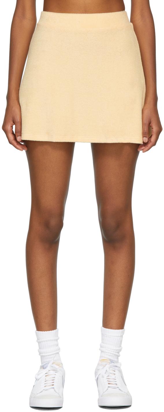 SSENSE Exclusive Orange Terry Tennis Skirt