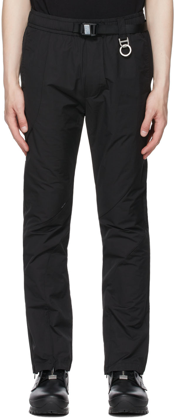 SSENSE Exclusive Black Intervein Track Pants