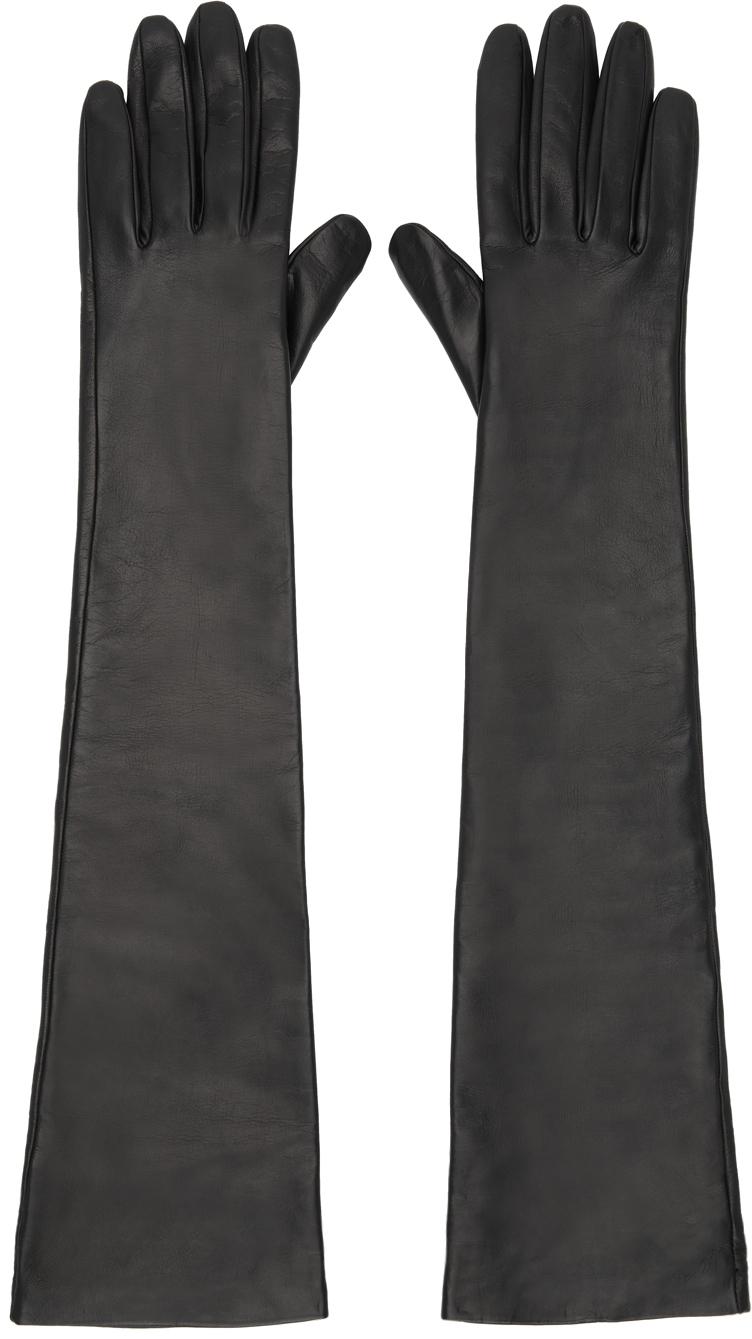 Black Malizia Long Gloves