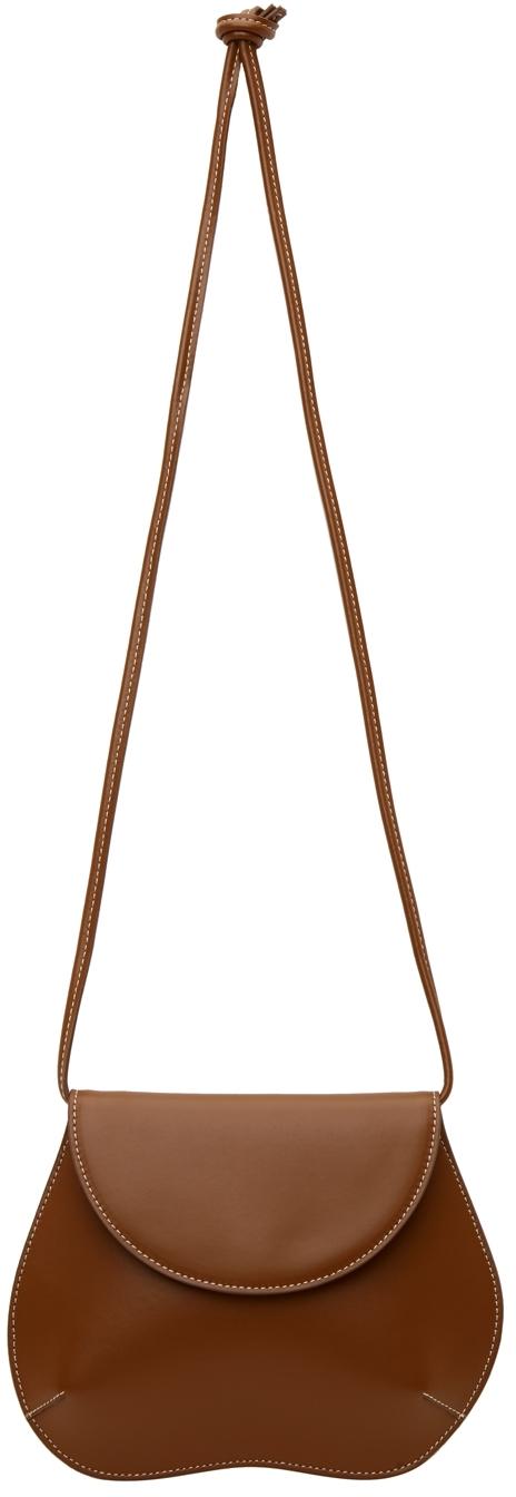 Brown Mini Pebble Bag