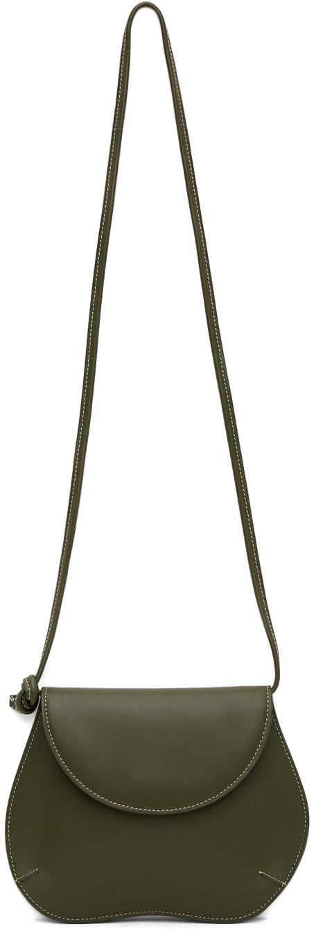 Khaki Mini Pebble Bag
