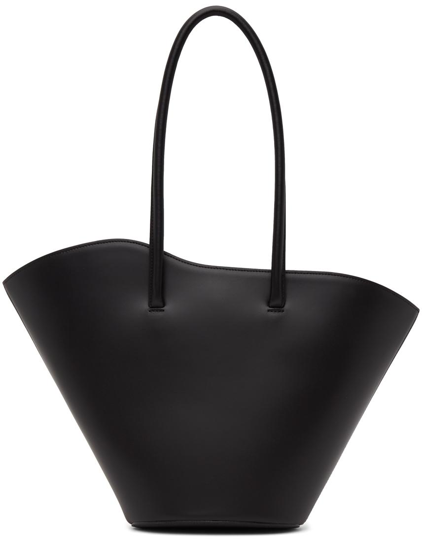 Black Tall Tulip Tote