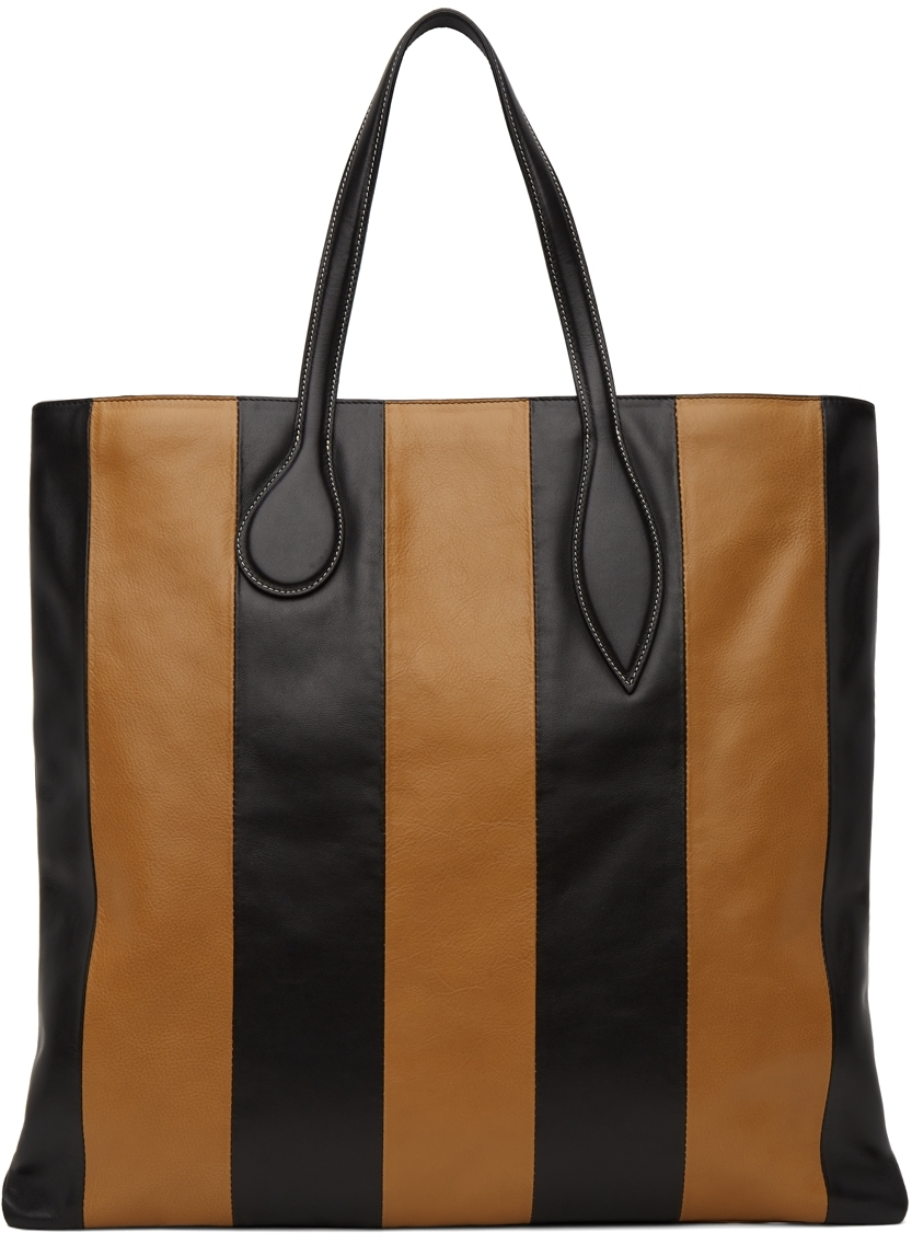 Black & Tan Sprout Tote