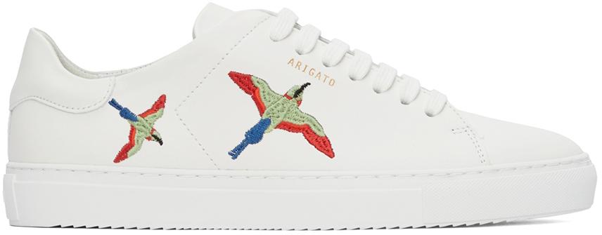 White Clean 90 Bee Birds Sneakers