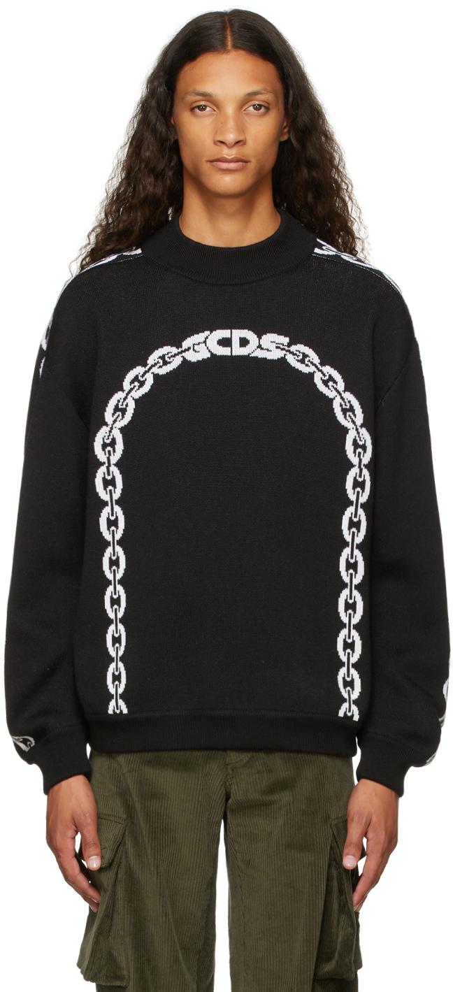Black Chain Sweatshirt