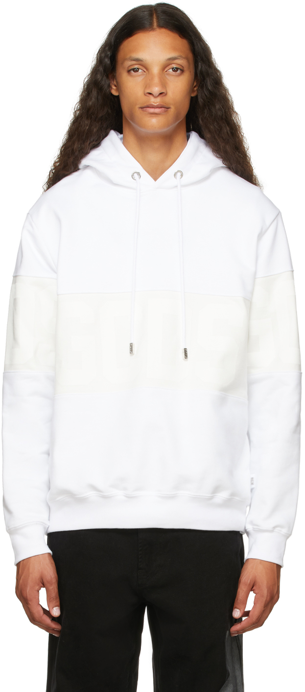 White Band Logo Hoodie