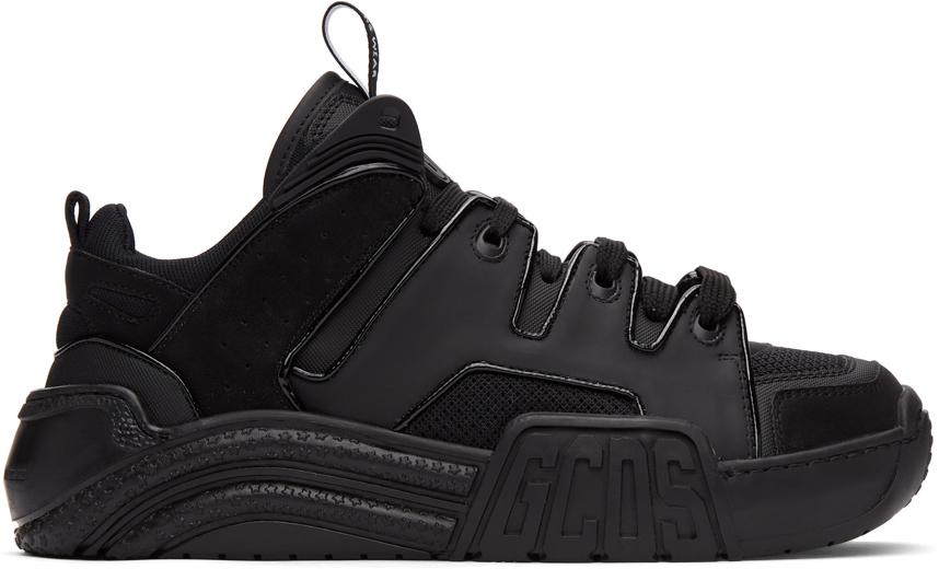 Black Slim Skate Sneakers