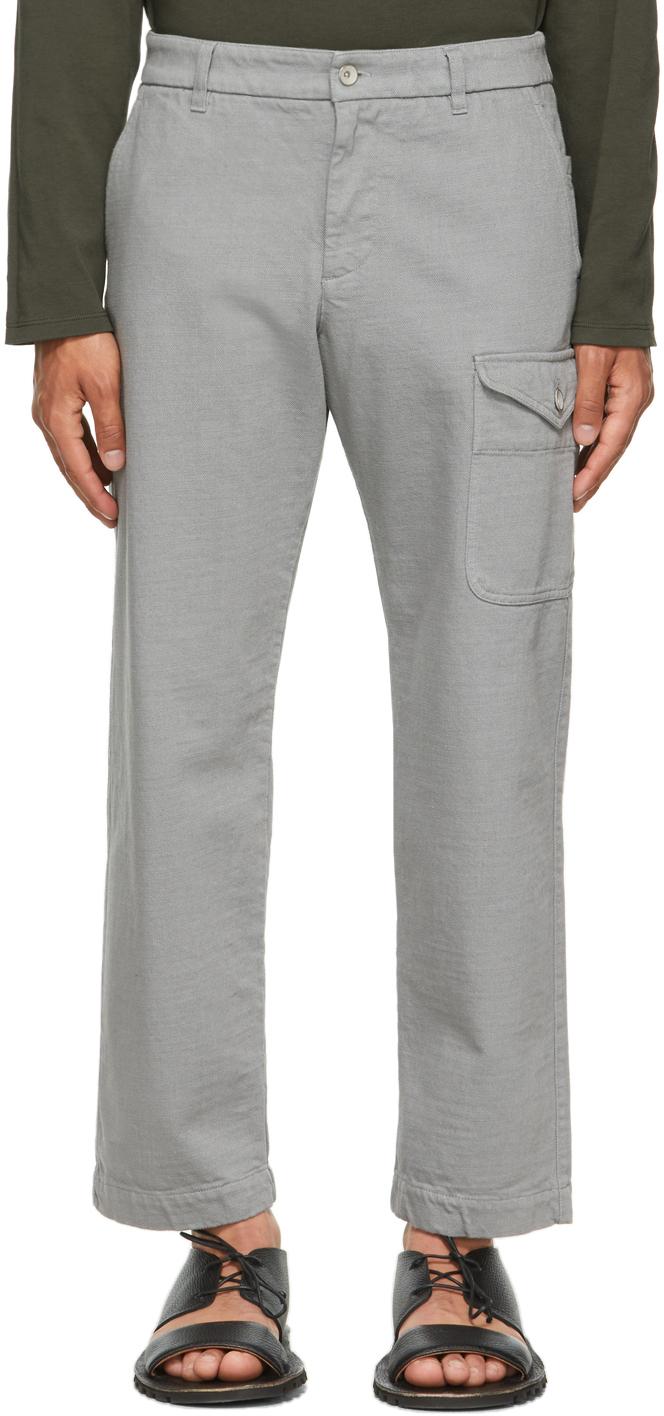 Grey Tepa Tober Cargo Pants