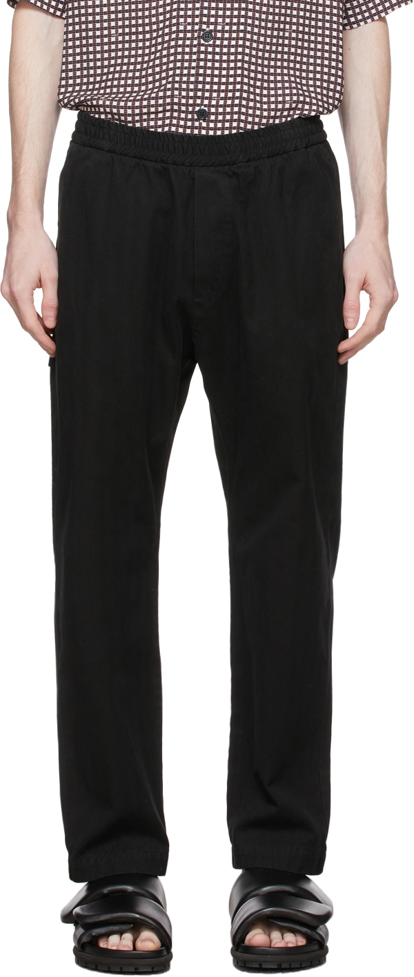 Black Bativoga Brula Trousers