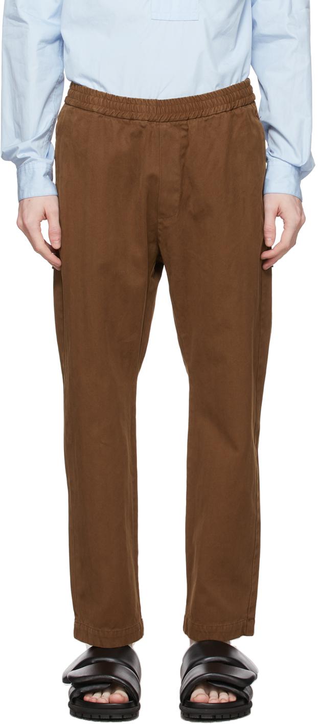 Brown Bativoga Brula Trousers