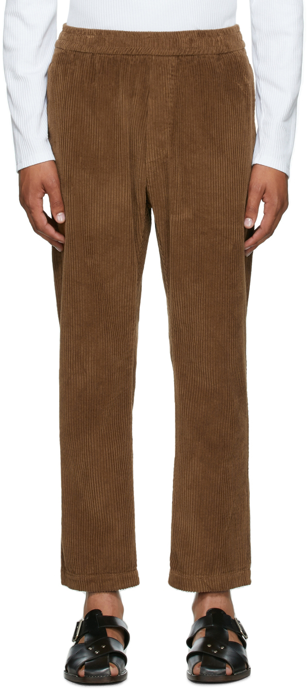 Brown Corduroy Trousers