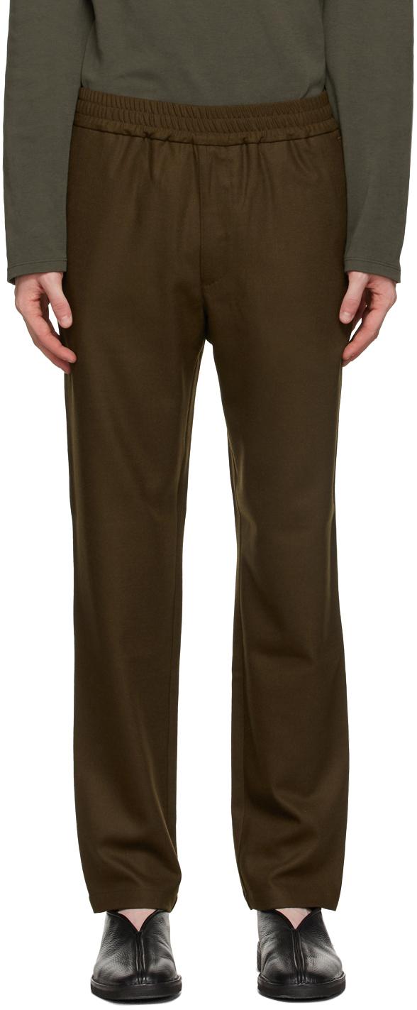 Brown Wool Trousers