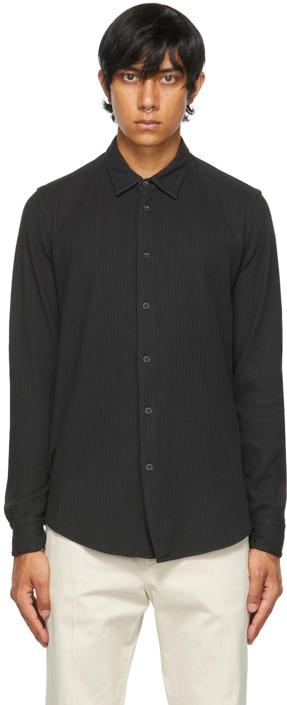 Black Striped Coppi Bita Shirt
