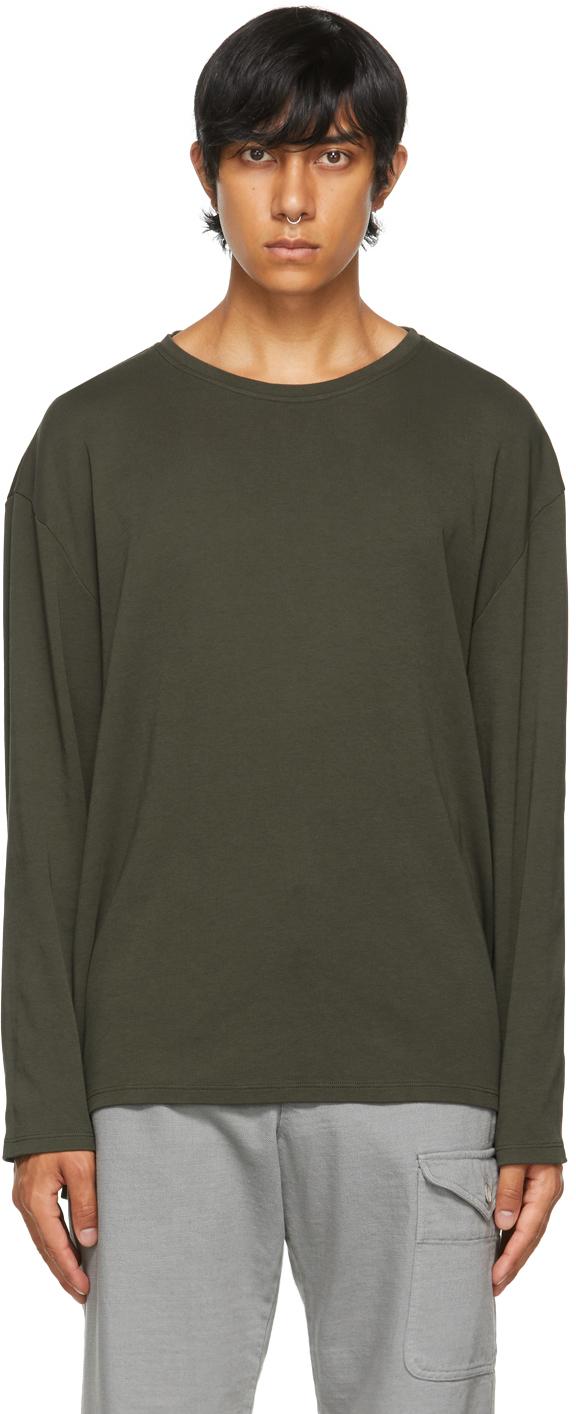 Khaki Barbaro Locky Long Sleeve T-Shirt