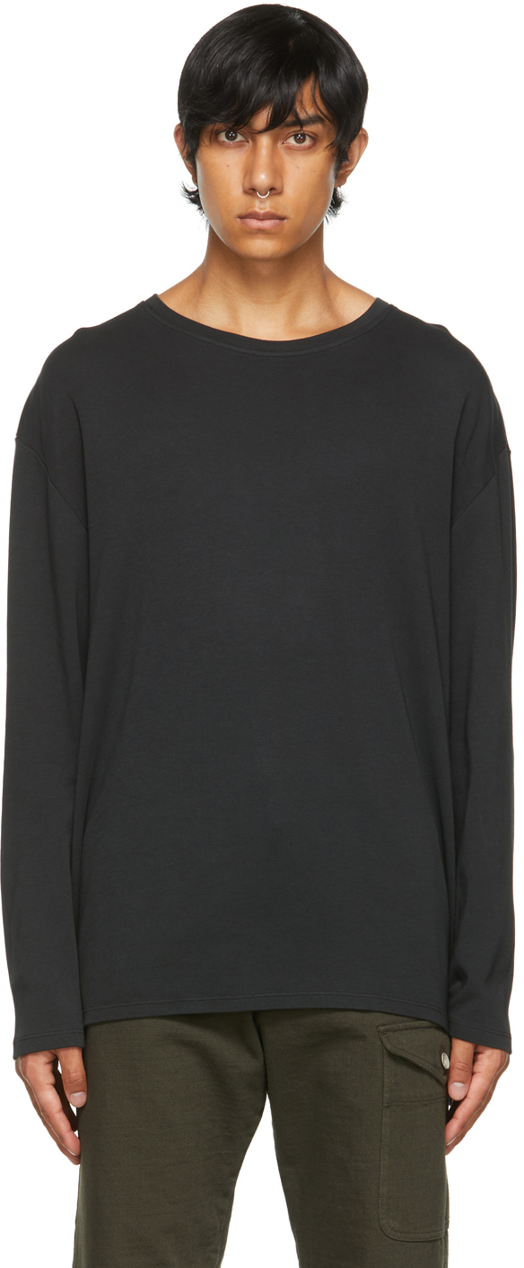 Black Barbaro Locky Long Sleeve T-Shirt