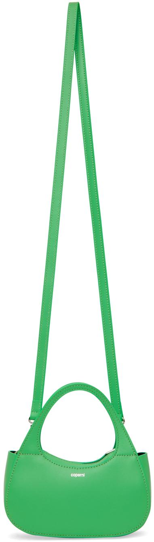 Green Micro Baguette Swipe Bag